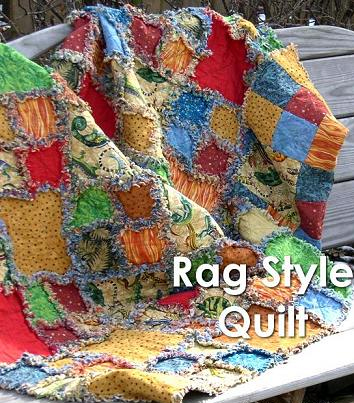 Rag Style Quilt Pattern